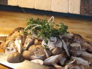 Mushrooms with Bouqeut Garni